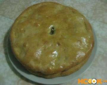 Даргинское чуду с мясом и картошкой – пошаговый фото рецепт приготовления пирога