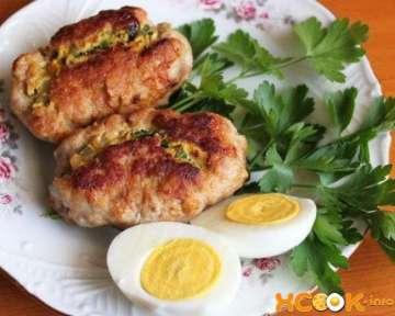 Зразы из свинины с яйцом — рецепт приготовления с пошаговыми фото