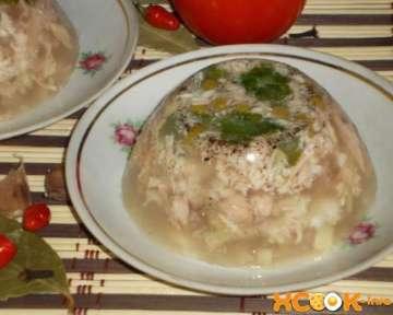 Домашний холодец из свинины — вкусный фото рецепт приготовления