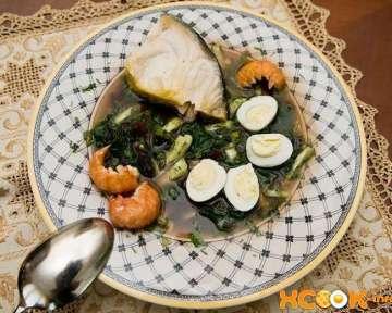 Холодный суп ботвинья — рецепт с фото приготовления