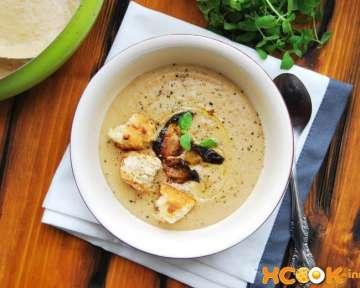 Грибной крем-суп из белых грибов – рецепт с пошаговыми фото, как приготовить со сливками и картофелем