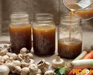 Пошаговый фото рецепт приготовления вкусного и насыщенного грибного бульона в домашних условиях