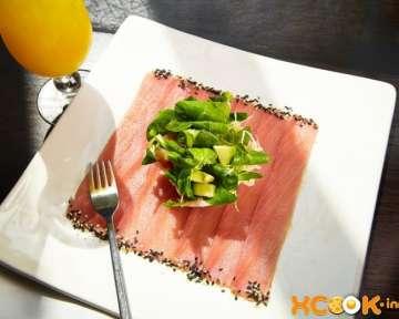 Карпаччо из тунца – рецепт с пошаговыми фото, как приготовить из филе с сыром и салатом