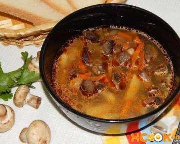 Постный суп с гречневой крупой и грибами – пошаговый рецепт с фото, как приготовить в домашних условиях