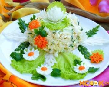 Рецепт приготовления салата Моника с пошаговыми фото