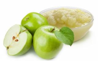 Описание яблочного пюре с фото, характеристика его состава и калорийности, польза продукта; как сделать своими руками