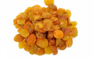 Изюм кишмиш — полезные свойства, вред и калорийность