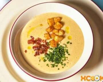 Гороховый крем-суп со сливками – пошаговый рецепт с фото приготовления в домашних условиях
