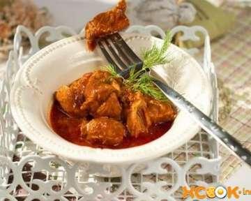 Свинина в томатном соусе – рецепт с пошаговыми фото, как приготовить на сковороде
