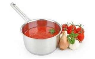 Томатный соус – его состав и калорийность; польза и вред; использование в кулинарии и лечении; рецепты блюд, как варить и заготавливать на зиму