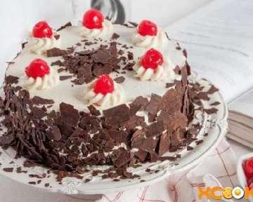 Классический торт Черный лес с вишней — рецепт с пошаговыми фото в домашних условиях