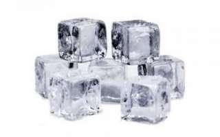 Пищевой лед — производство прозрачного льда для напитков