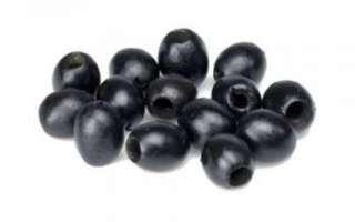Свежие плоды черных маслин — польза и вред