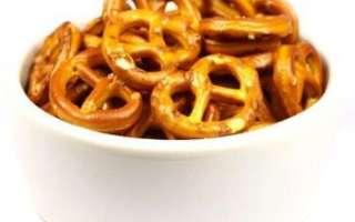 Крендельки – калорийность и состав; использование продукта в кулинарии; рецепт, как сделать в домашних условиях с видео