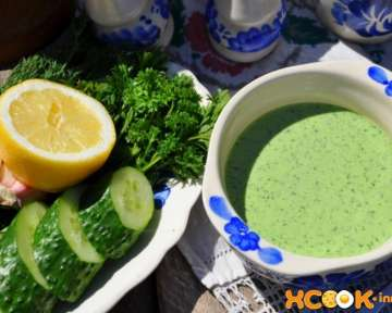 Холодный огуречный суп-пюре – приготовление на кефире и йогурте по простому рецепту с пошаговыми фото