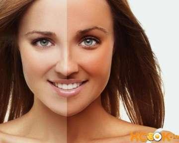 Как быстро избавиться от загара на коже лица и тела?