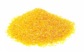 Пищевая ценность кукурузной крупы, ее полезные свойства