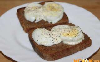 Вкусные гренки из черного хлеба с вареным яйцом – простой пошаговый рецепт с фото, как их сделать в домашних условиях