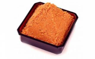 Описание, калорийность и состав пасты мисо; как приготовить в домашних условиях; применение в кулинарии; польза и вред продукта