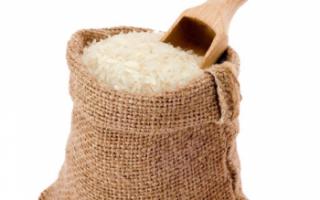 Рис круглозерный шлифованный — калорийность, польза и вред