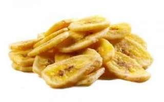 Банановые чипсы — состав, калорийность и рецепт