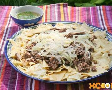 Бешбармак из баранины по-казахски – пошаговый рецепт с фото, как приготовить национальное блюдо казахской кухни