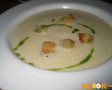 Вкусный фото рецепт, как приготовить для детей и взрослых молочный суп с гренками (сухариками)