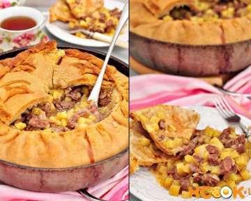 Пирог Зур бэлиш (балиш) — рецепт с фото, как приготовить татарское национальное блюдо