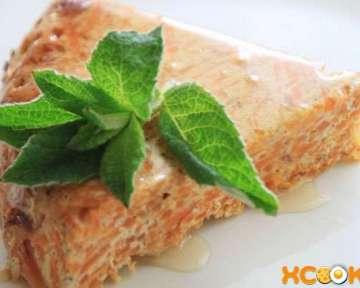 Как приготовить морковную запеканку с добавлением творога и манки?