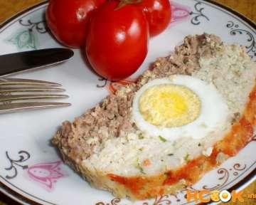 Домашний мясной хлеб с яйцом – рецепт с пошаговыми фото, как приготовить в духовке из куриного и говяжьего фарша