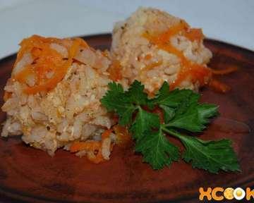 Пошаговый рецепт с фото, как приготовить куриные ежики с рисом из филе с томатным соусом
