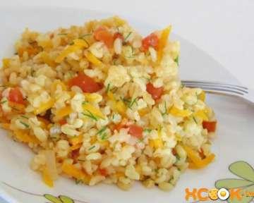 Вкусный булгур с овощами – пошаговый рецепт приготовления с фото