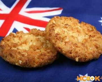 Печенье анзак — австралийский рецепт с пошаговыми фото