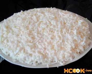 Вкусный салат Невеста с копченой курицей и сыром – как приготовить в домашних условиях, простой пошаговый фото рецепт