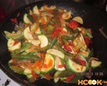 Кабачки с острым перцем и чесноком – пошаговый рецепт с фото приготовления салата по-корейски
