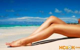 Депиляция ног — воском, кремом, эпилятором и сахаром