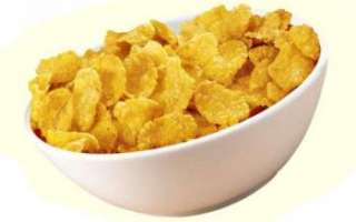 Кукурузные хлопья — польза и вред; использование при похудении; их приготовление в домашних условиях и фото рецепты с этим продуктом