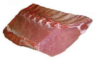 Описание свиной корейки с фото, показатель ее калорийности, а также перечень рецептов блюд с этим продуктом