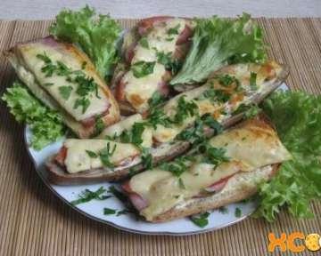 Горячие бутерброды в духовке – пошаговый рецепт с фото, как приготовить с помидорами, сыром и другими ингредиентами