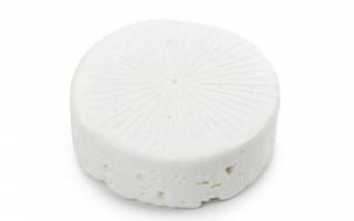 Польза и вред грузинского сыра Сулугуни, его калорийность и фото продукта