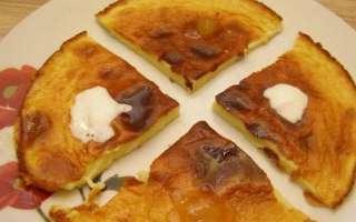 Сладкий омлет с молоком и мукой – пошаговый рецепт с фото, как приготовить на сковороде