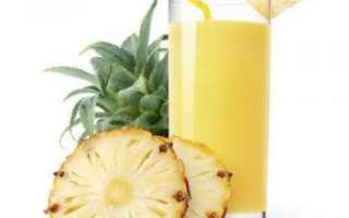 Ананасовый сок — калорийность, полезные свойства и противопоказания