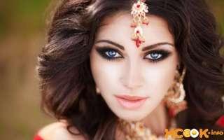 Как сделать макияж в восточном стиле для карих, голубых, зеленых или серых глаз? – пошаговая фото инструкция и видео урок