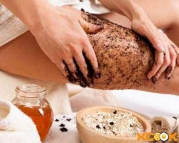 Рецепт по приготовлению эффективного домашнего антицеллюлитного скраба для тела с кофе и солью