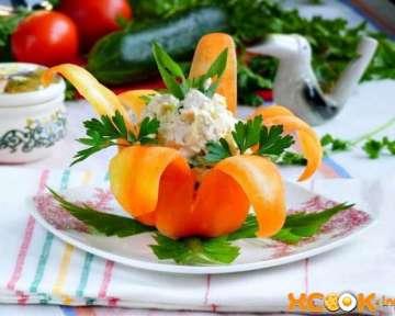 Салат Нежность — с курицей и огурцом: рецепт приготовления с фото