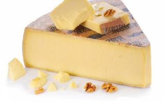 Описание качества сыра Грюйер с фото, его полезные свойства, а также применение швейцарского продукта в рецептах блюд