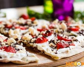 Сладкая пицца – пошаговый рецепт с фото, как сделать тесто и начинку в домашних условиях