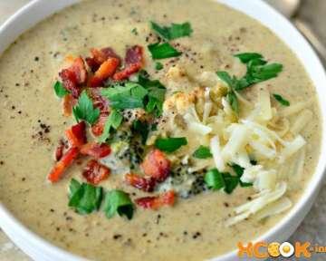 Вкусный диетический крем-суп из брокколи и цветной капусты для ребенка – пошаговый рецепт с фото, как приготовить овощное блюдо со сливками и сыром