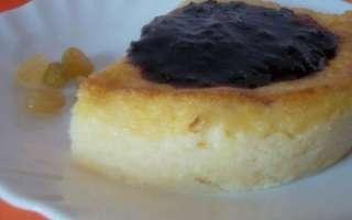 Пудинг из манной каши — рецепт с фото пошагово, как приготовить в домашних условиях