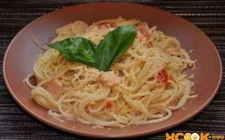 Паста карбонара с беконом — рецепт с пошаговыми фото, как приготовить спагетти в мультиварке